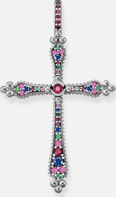 Thomas Sabo Kreuzanhänger 'Royalty Kreuz, PE766-322-7'
