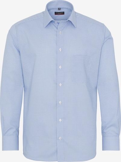 ETERNA Zakelijk overhemd in Smoky blue / Wit Ms7EsVeu
