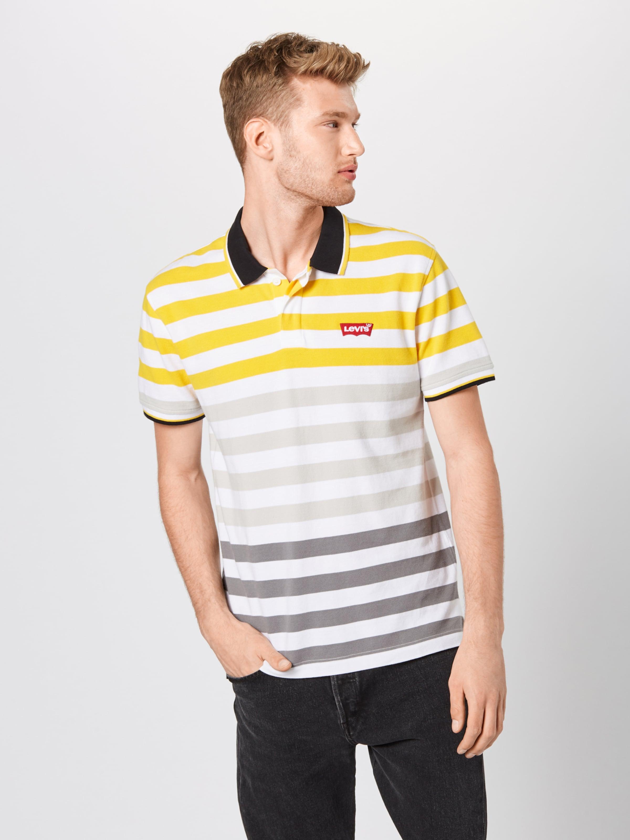 Levi's JauneGris shirt En T Blanc Noir rCxoWdeB