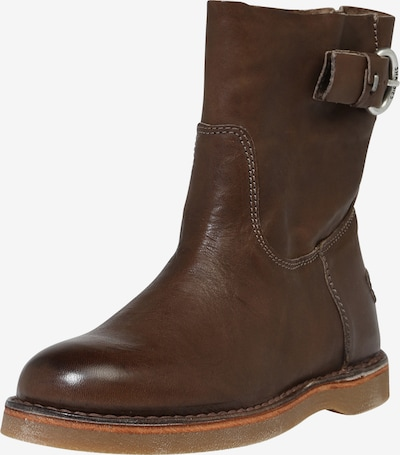 SHABBIES AMSTERDAM ANKLE BOOT in taupe, Produktansicht