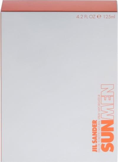 JIL SANDER 'Sun Men' Eau de Toilette in weiß, Produktansicht