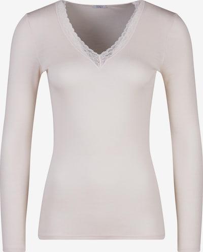 HUBER Shirt 'Woolen Elegance' in champagner, Produktansicht
