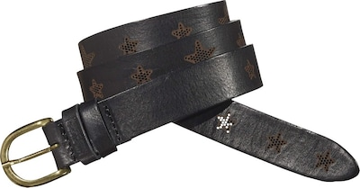 Tommy Jeans Hilfiger Denim Gürtel »Embossed leather belt 3«