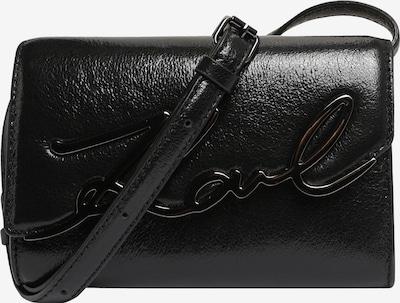 Karl Lagerfeld Axelremsväska 'signature' i svart, Produktvy
