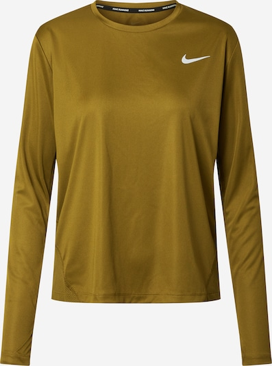 NIKE Functional shirt 'Miler' in olive, Item view