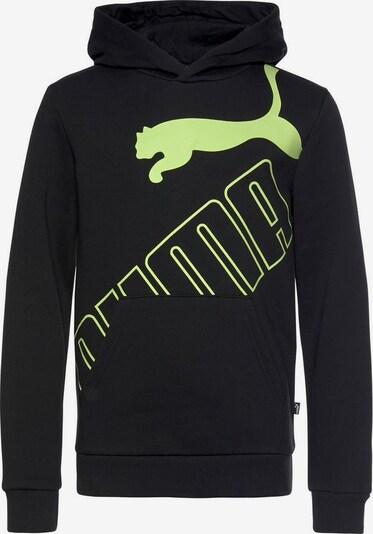 PUMA Sweatshirt in pastellgrün / schwarz, Produktansicht