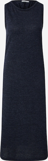 EDC BY ESPRIT Jurk 'Neppy dress Dresses knitted long' in de kleur Navy, Productweergave