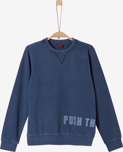 s.Oliver Junior Sweatshirt in marine / rauchblau, Produktansicht