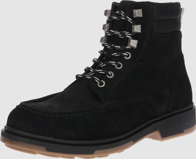 Tommy Jeans Winter-Stiefel Winter-Stiefel Winter-Stiefel aus Veloursleder 81b7fd