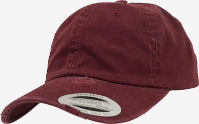 Flexfit Cap in blutrot, Produktansicht