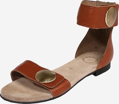 Ca Shott Sandale in cognac, Produktansicht