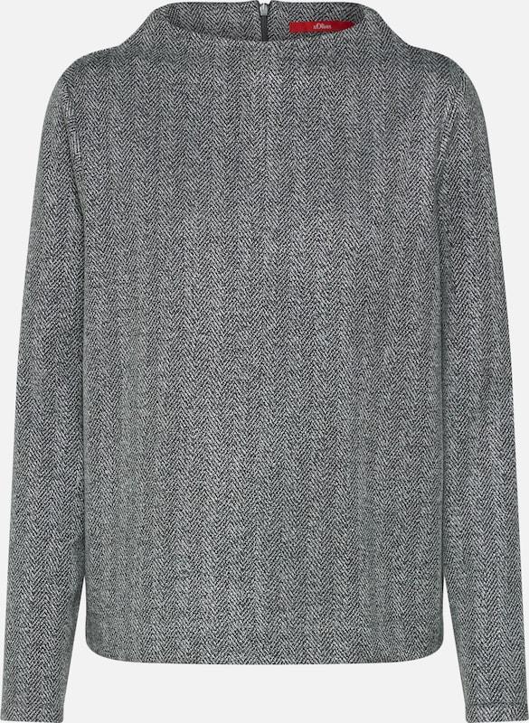 S oliver shirt Gris Foncé Red Label Sweat En f7Yb6gy