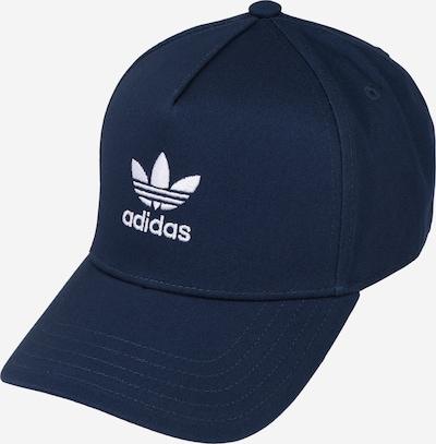 Șapcă 'AC CLSD TRK CRV' ADIDAS ORIGINALS pe albastru închis / alb, Vizualizare produs