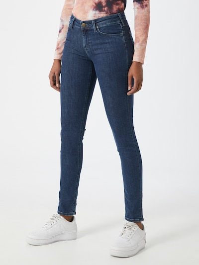 Lee 'Scarlett' Skinny-fit Jeans in blue denim, Modelansicht