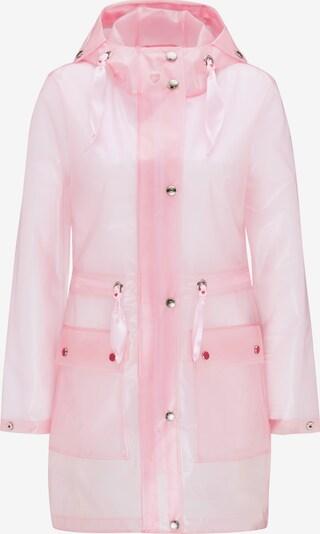 MYMO Manteau mi-saison en rose pastel, Vue avec produit
