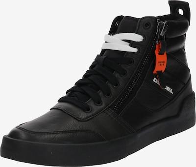 fekete DIESEL Magas szárú edzőcipők 'D-Velows', Termék nézet