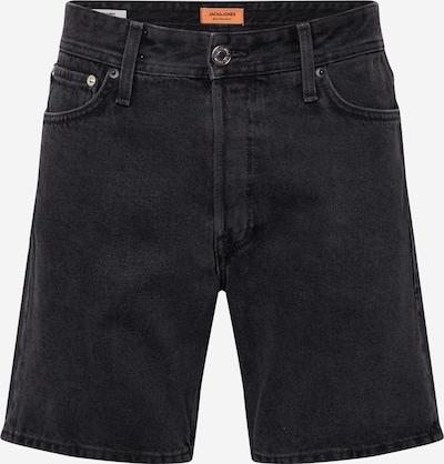 Jeans 'JJICHRIS' JACK & JONES pe denim negru: Privire frontală