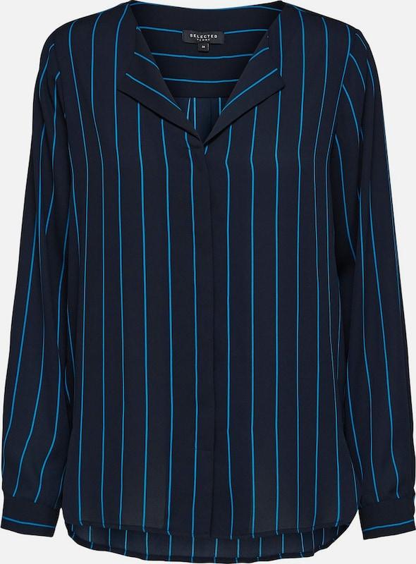 SELECTED FEMME Hemd in blau   nachtblau  Markenkleidung für Männer und Frauen