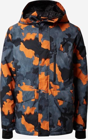 QUIKSILVER Outdoorová bunda 'MISSION PRIN' - hnědá / barvy bláta / oranžová, Produkt