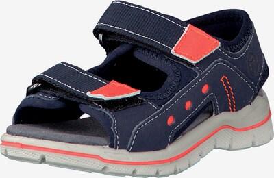 RICOSTA Sandale 'Remo' in navy / koralle, Produktansicht