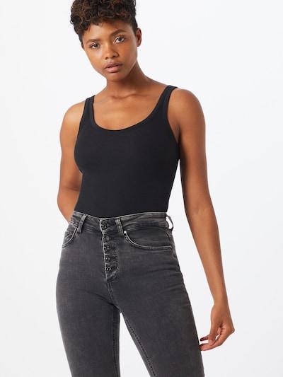Cotton On Top in schwarz, Modelansicht