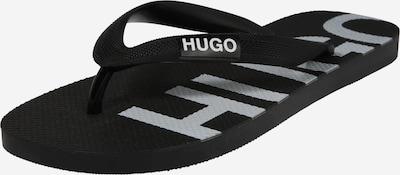 HUGO Séparateur d'orteils en noir, Vue avec produit