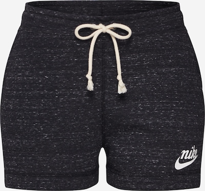 Nike Sportswear Sports trousers in black / white, Item view