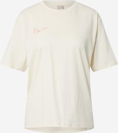 PIECES Shirt 'PCMIKANI' in weiß, Produktansicht