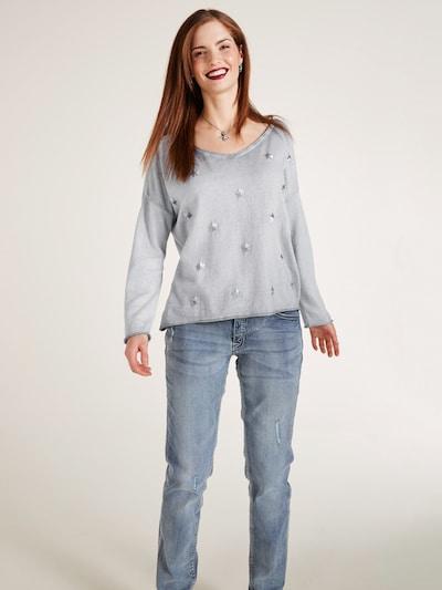 heine Sweter w kolorze szarym: Widok z przodu