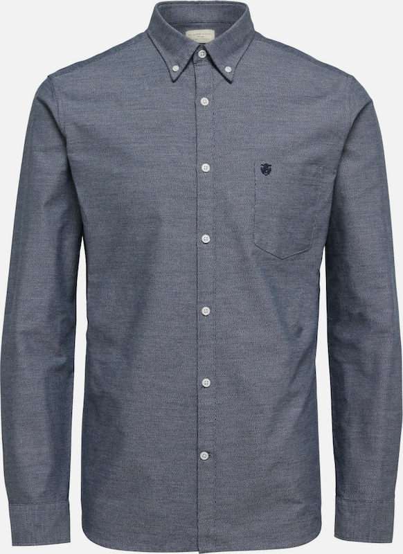 SELECTED HOMME Oxford-Langarmhemd