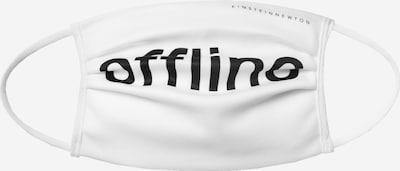 EINSTEIN & NEWTON Stoffmaske 'Offline' in weiß, Produktansicht