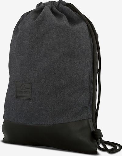 Krepšys-maišas 'Luke' iš Johnny Urban , spalva - pilka: Vaizdas iš šono