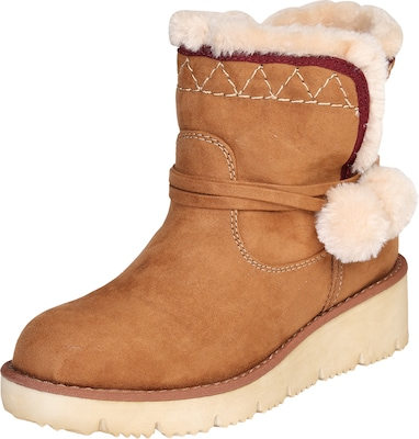 S.Oliver RED LABEL Snowboot mit Keilabsatz