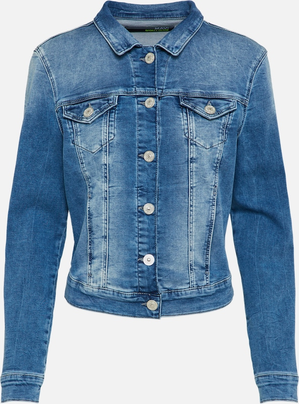 Mavi Jeansjacke Damen in blue denim: Frontalansicht