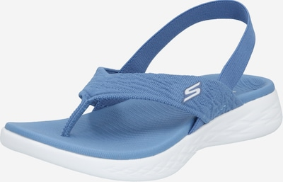 SKECHERS Sandale 'On-The-Go Beach Day' in blau, Produktansicht