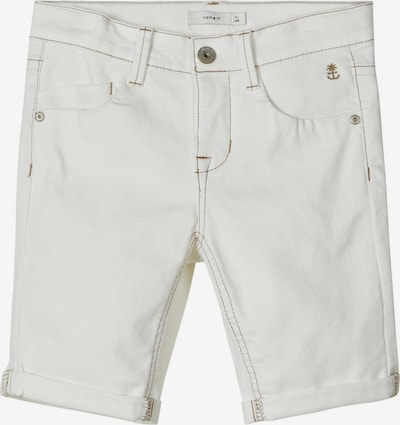 NAME IT Jeansshorts in weiß, Produktansicht