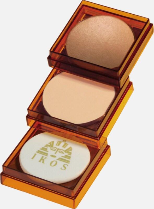 IKOS 'Schmink-Duo - Egyptische Erde & Wet & Dry  Profischminke', Bräunungspuder & Make-Up (2-tlg.)
