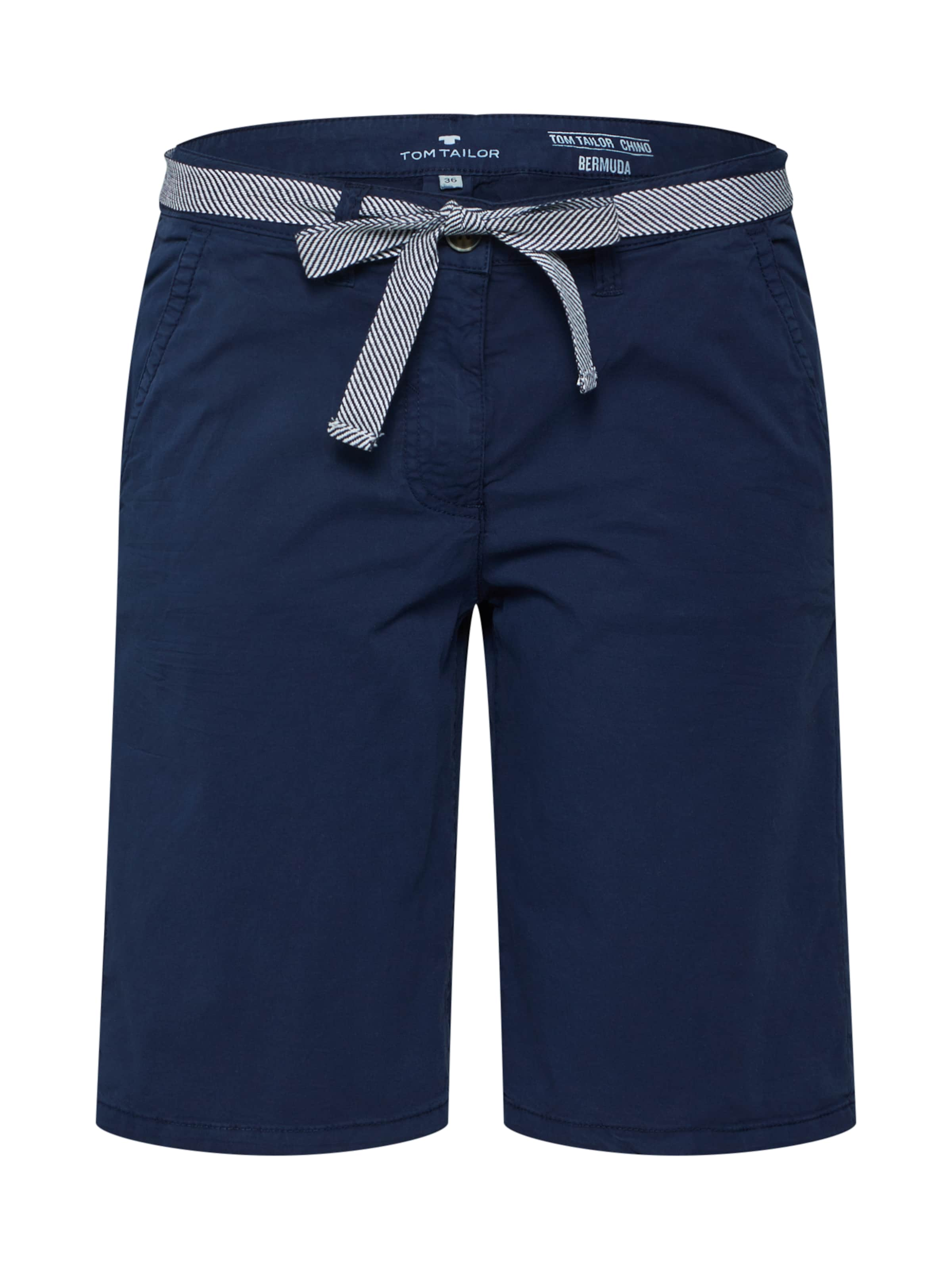 Tom Pantalon Tailor Nuit En Chino Bleu orCdxBe