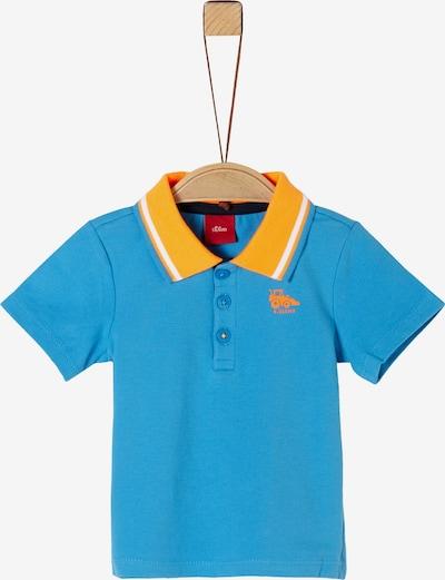 s.Oliver Shirt in türkis / gelb / weiß, Produktansicht