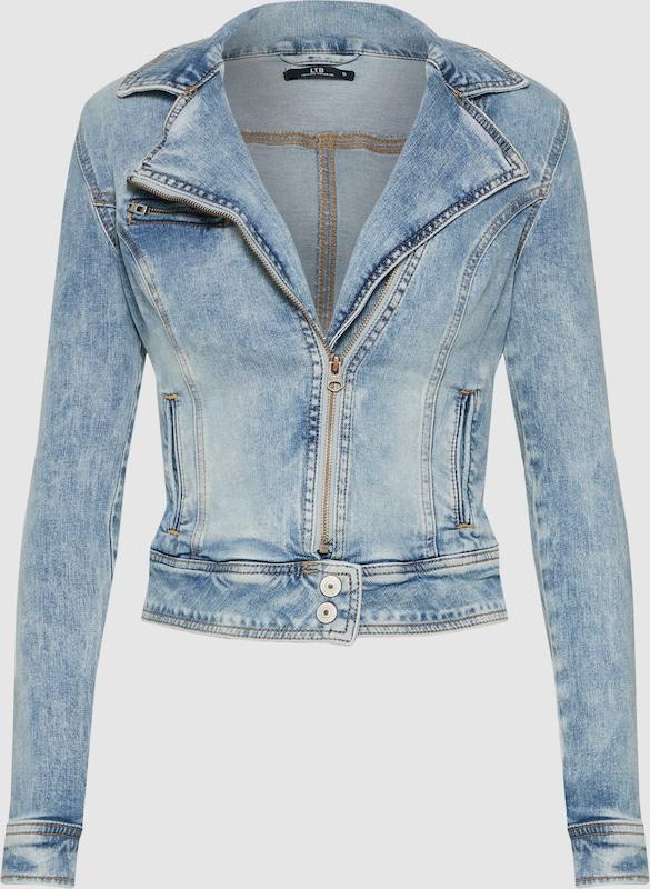 LTB Bikerjacke 'Ellen' in Blau denim  Mode neue Kleidung