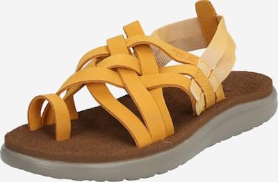 TEVA Sandalen 'Voya' in gelb, Produktansicht