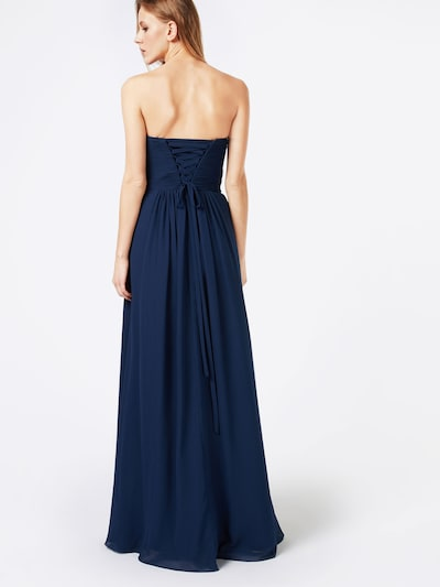 mascara Abendkleid 'MC181071' in navy: Rückansicht