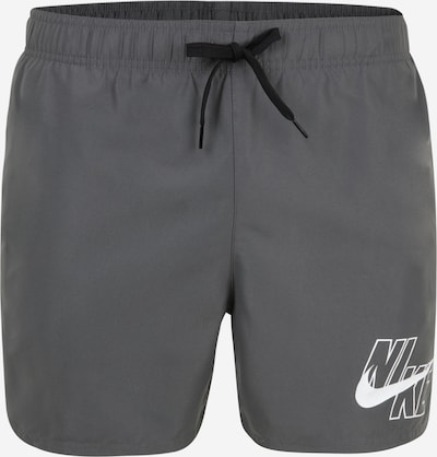 Nike Swim Maillot de bain de sport 'LAP 5' en gris foncé, Vue avec produit