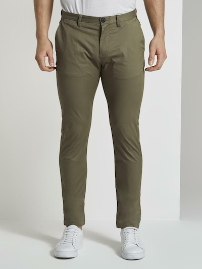 TOM TAILOR Hosen & Chino Funktionale Chino Hose in khaki, Modelansicht