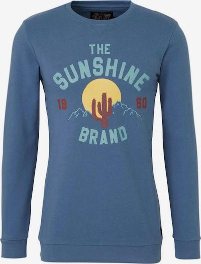 Shiwi Bluzka sportowa 'The sunshine brand' w kolorze niebieskim: Widok z przodu