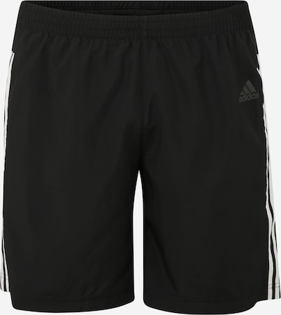 ADIDAS PERFORMANCE Pantalon de sport 'RUN IT' en noir / blanc, Vue avec produit