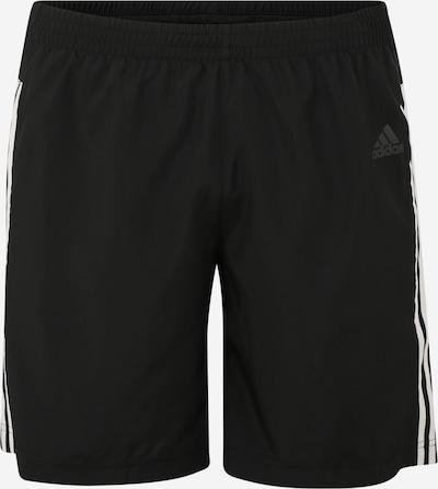 ADIDAS PERFORMANCE Sport-Hose 'RUN IT' in schwarz / weiß, Produktansicht