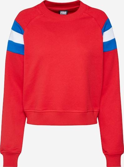 Megztinis be užsegimo iš Urban Classics , spalva - mėlyna / raudona / balta, Prekių apžvalga