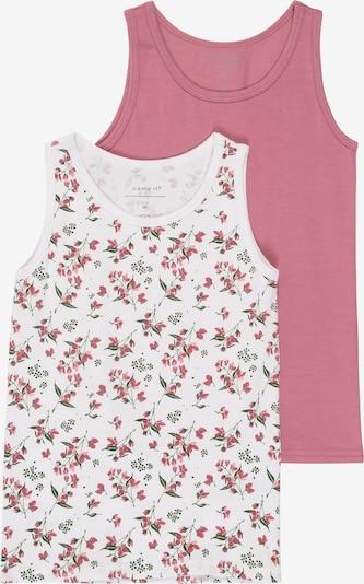 rózsa NAME IT Trikó és alsó póló 'NMFTANK TOP 2P HEATHER ROSE AOP NOOS', Termék nézet