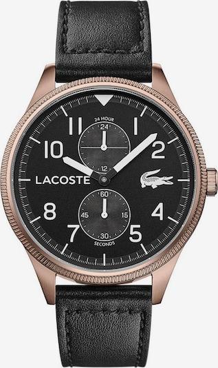 LACOSTE Analoog horloge 'Continental 2011042' in de kleur Lichtbeige / Brons / Zwart / Wit, Productweergave